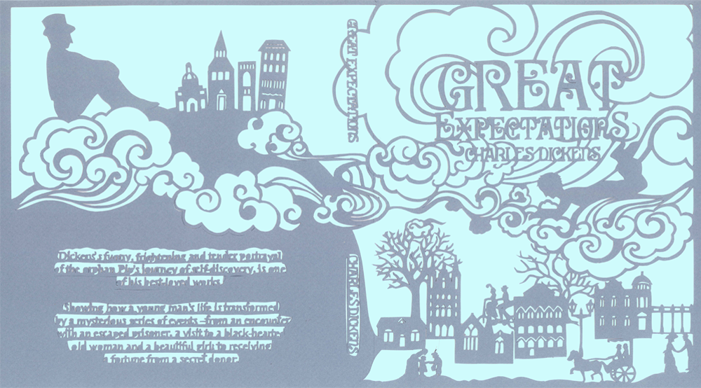 great expectations book jacket design