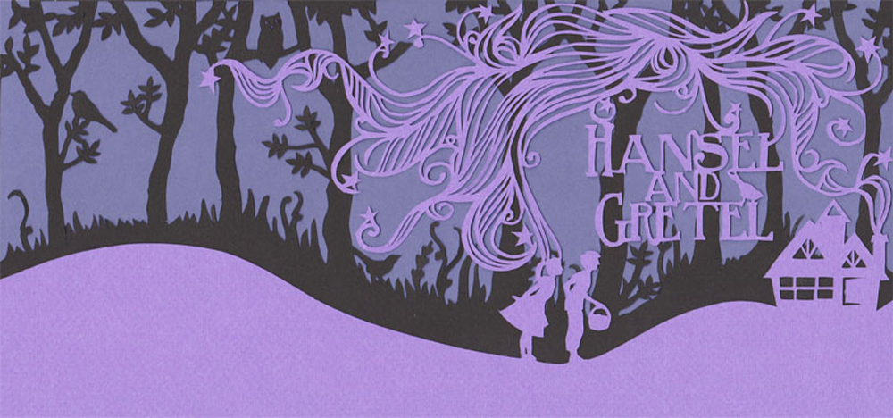 hansel and gretel book cover design