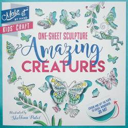 One-Sheet Sculpture: Amazing Creatures children's activity book thumbnail