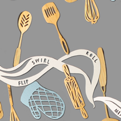 Utensils repeat pattern thumbnail