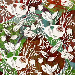 Vegetables repeat pattern thumbnail